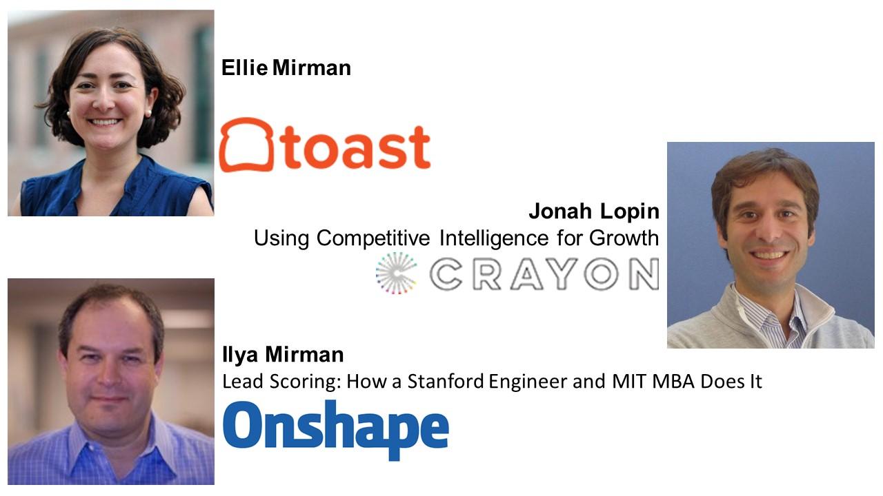 Growth Camp Speakers - Ellie Mirman, Jonah Lopin, Ilya Mirman